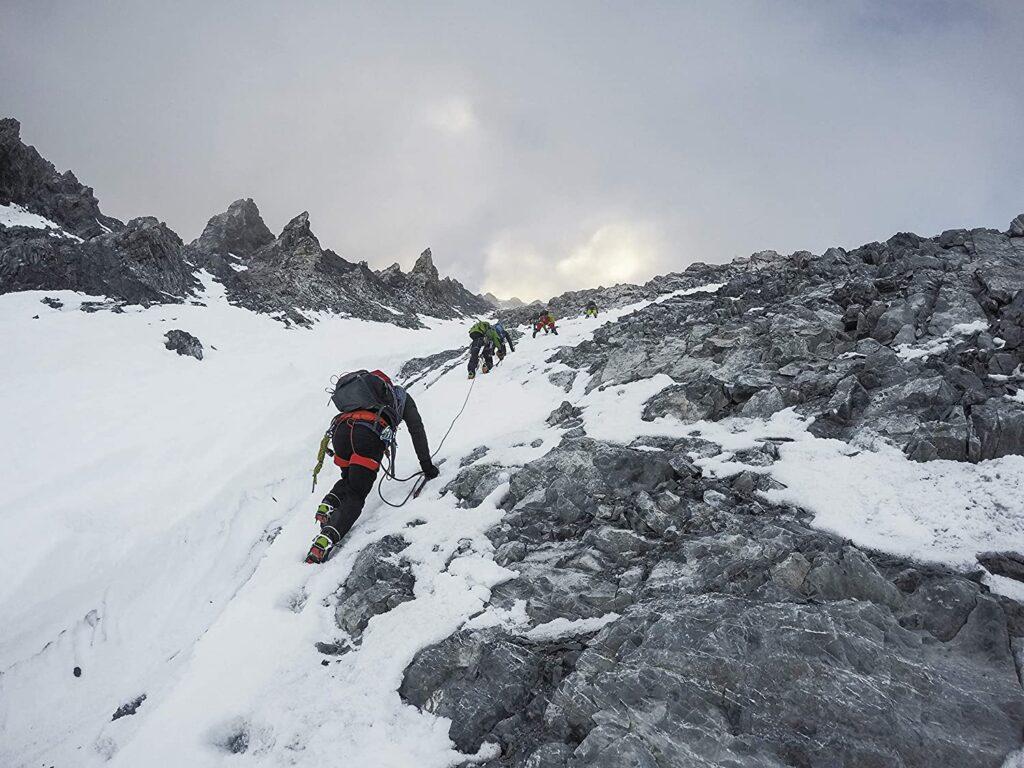 Cámara go pro para alpinismo