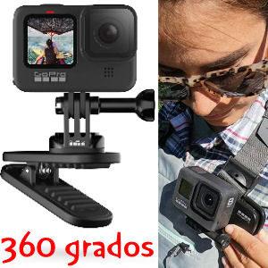 Pinza para GoPro con 360 grados de giro