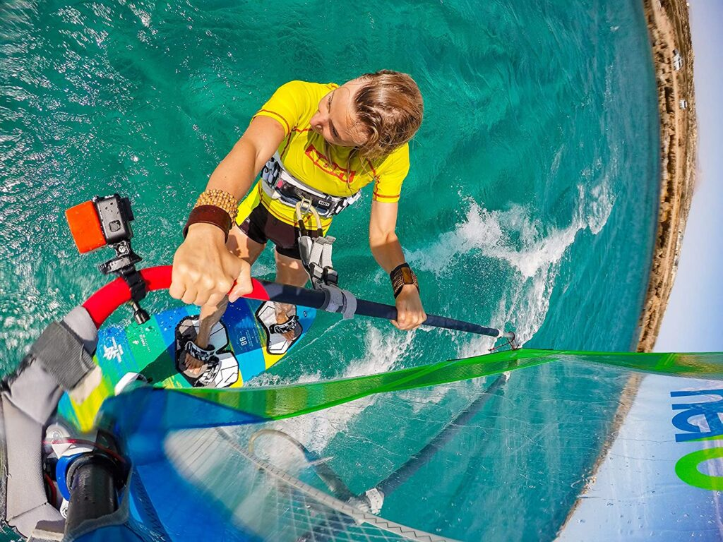 Soporte gopro windsurf