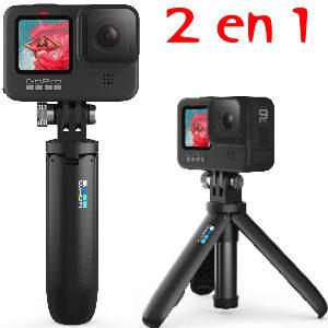 Vara trípode para cámaras GoPro, disfruta de 2 productos en 1 con la garantía de GoPro